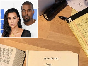 Did Kim Kardashian Just Share Kanye West's New Album Title and Tracklist on Twitter?