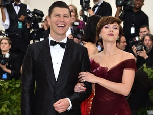 Scarlett Johansson Opens Up About Romantic Proposal From Colin Jost 😍