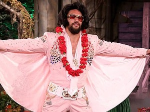Jason Momoa's Elvis Presley Costume Is Super Hot