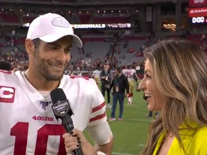 Not Cool, Dude? Jimmy Garoppolo Drops a 'Baby' on Erin Andrews